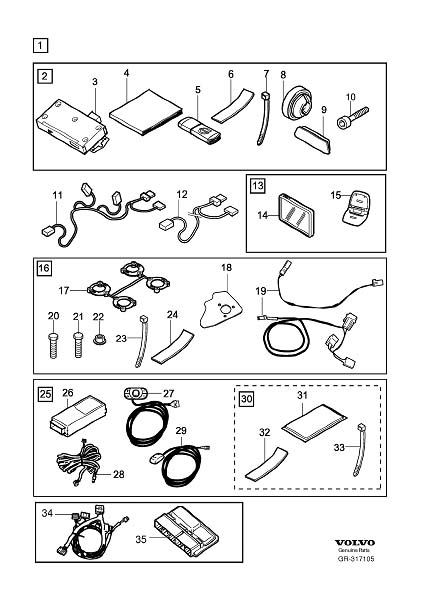 Mobility Connection Package accessory Diagram