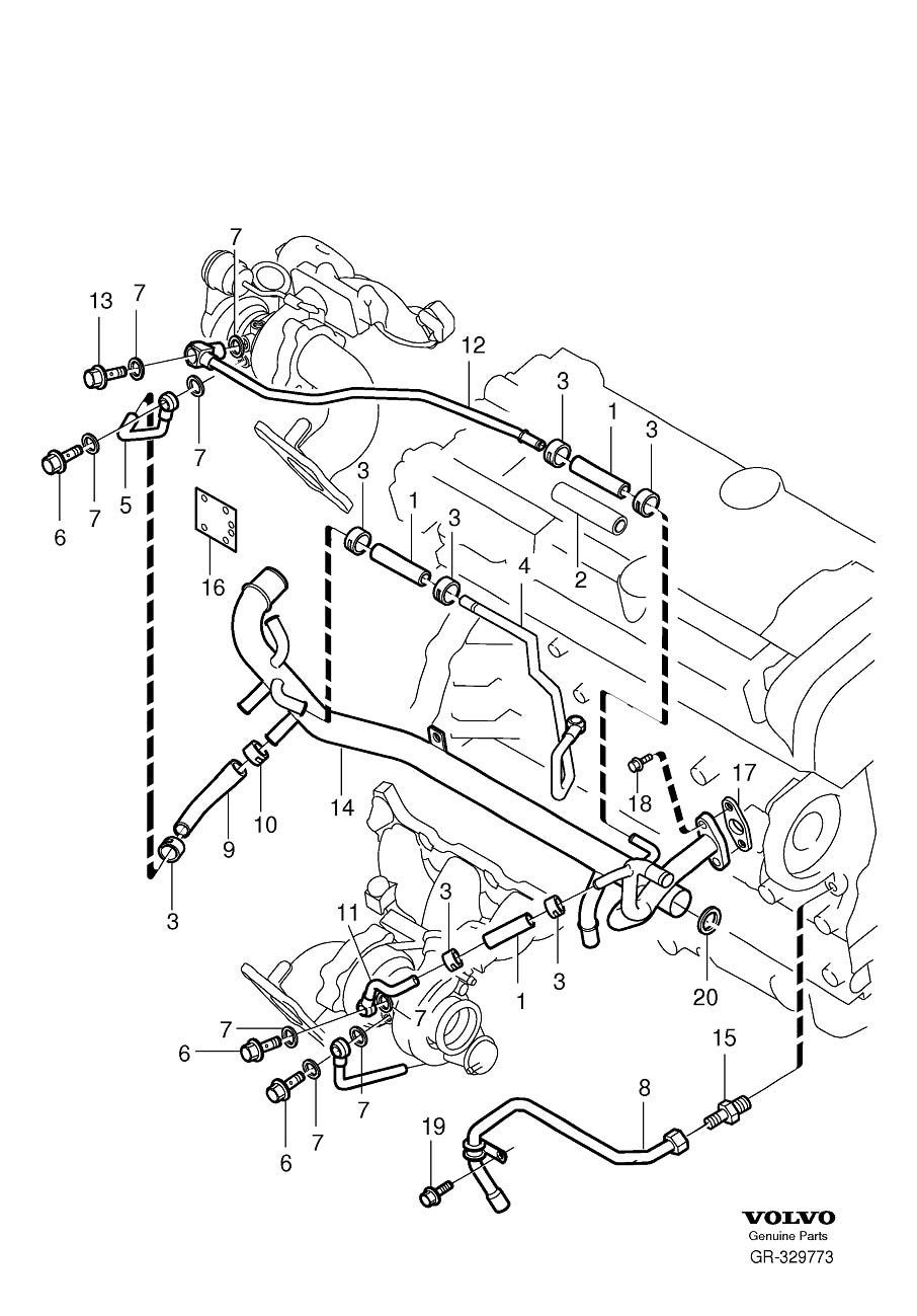 1999 volvo s80 coolant diagram