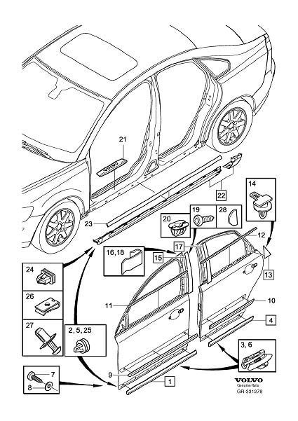 mercedes ml320 interior trim parts diagram