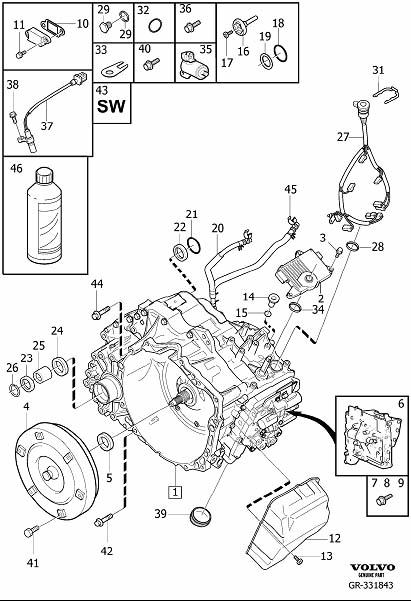 volvo xc70 automatic transmission