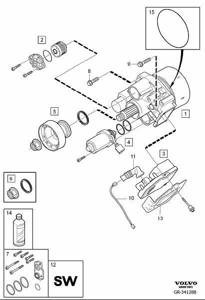 Volvo Xc70 Dem Reload Aoc Demand Coupling 30783153