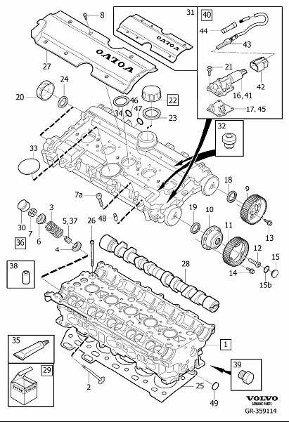 1998 volvo v70 transmission diagram