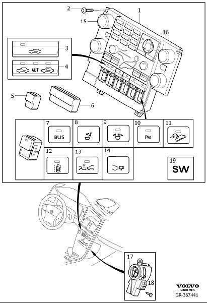 diagram  volvo v70 xc70 s80 2014 electrical wiring