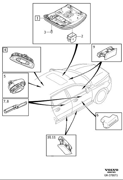 volvo v50 parts diagram