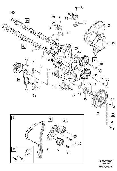Diagram Transmission for your Volvo