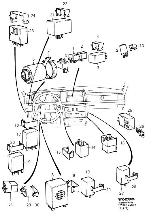 Volvo Relay Diagram 1994 940 on 1998 Volvo S70 Engine Diagram