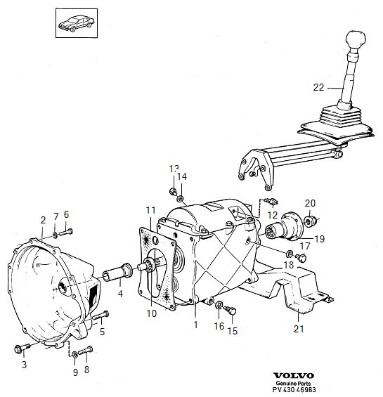 Manual transmission stuck in 4th, shifter freely moves (1988) - Volvo  Forums - Volvo Enthusiasts Forum | Volvo Transmission Diagrams |  | Volvo Forums