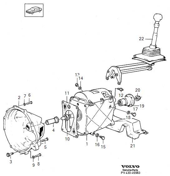 Manual transmission M45