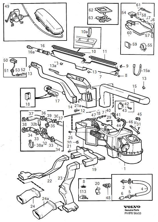 1996 Volvo 960 Flange screw - 985024 | Volvo Parts ...