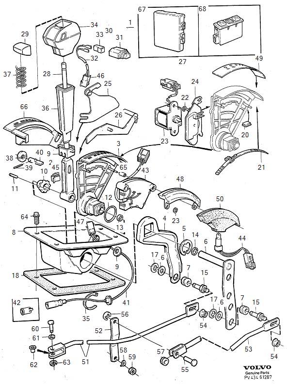 1994 volvo 940 transmission diagram  volvo  wiring