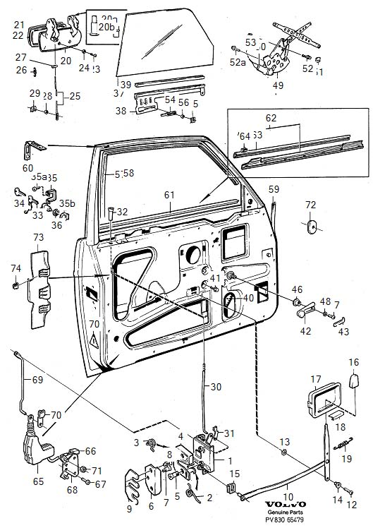 Volvo V40 Door Wiring Diagram  Volvo  Vehicle Wiring Diagrams