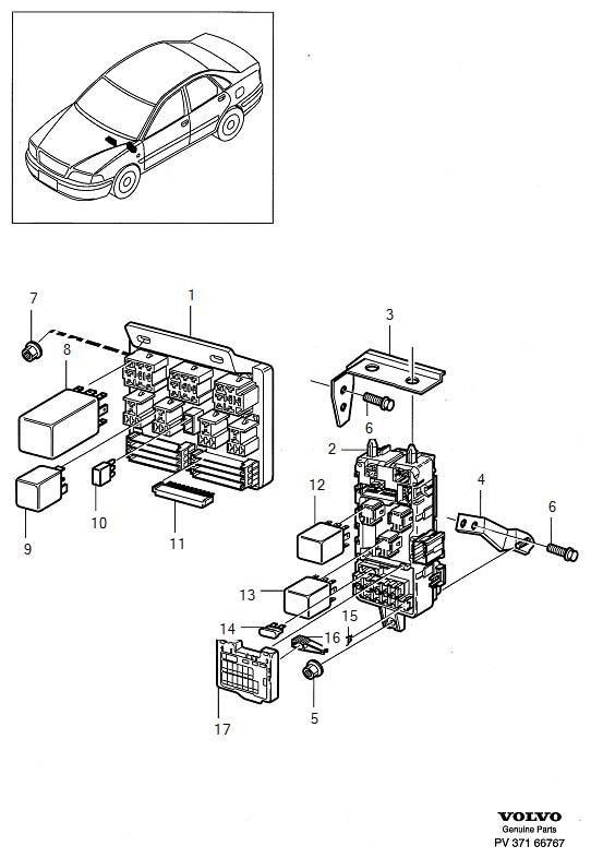06 volvo s40 fuse box  volvo  auto wiring diagram