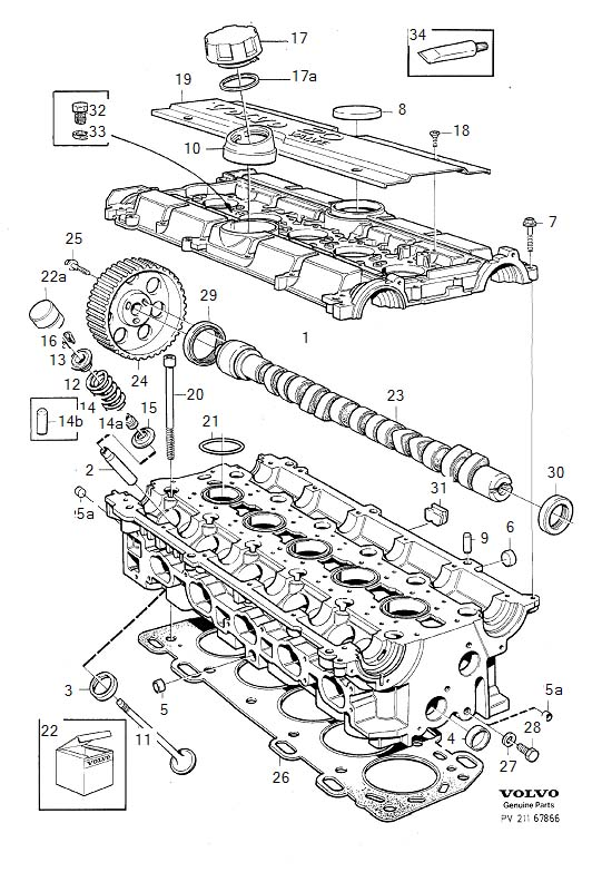 ShowAssembly on 1994 volvo 850 engine diagram