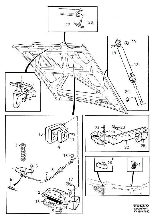 volvo v70 six point socket screw  torx