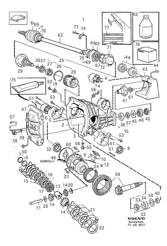 service manual  repair manual 1992 volvo 940 wheel drive