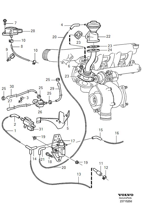 1998 volvo s70 interior parts diagram