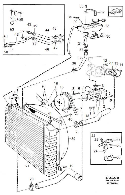 GR 73646 volvo 940 engine diagram on 2005 explorer wiring diagrams
