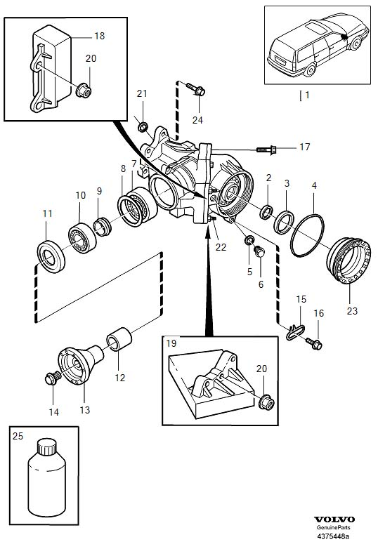 Angle gear awd awd (ca)