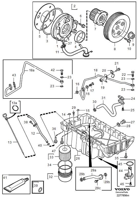 Isuzu Generator Fuel Filter together with Engine also Volvo Strut Mount Diagram further Watch besides ShowAssembly. on 2000 volvo s80 6 cylinder