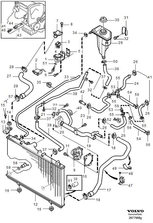 Volvo S60 Water Pump Kit