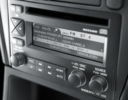 volvo s40 volvo navigation system hu 1205 rds big. Black Bedroom Furniture Sets. Home Design Ideas