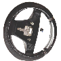 Steering wheel, sport, aluminum inlay image for your 2009 Volvo S40