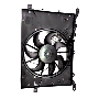 Electrical fan image for your 2003 Volvo S60 2.4l 5 cylinder